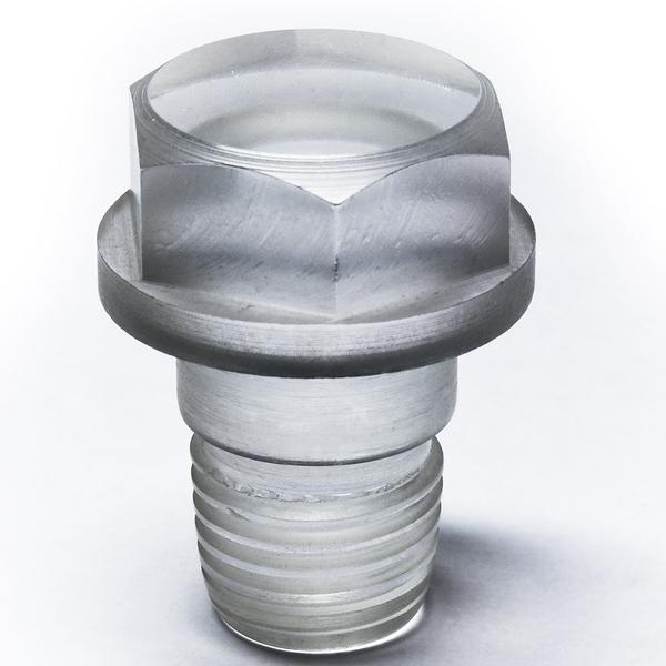 3D plastic printed bolt